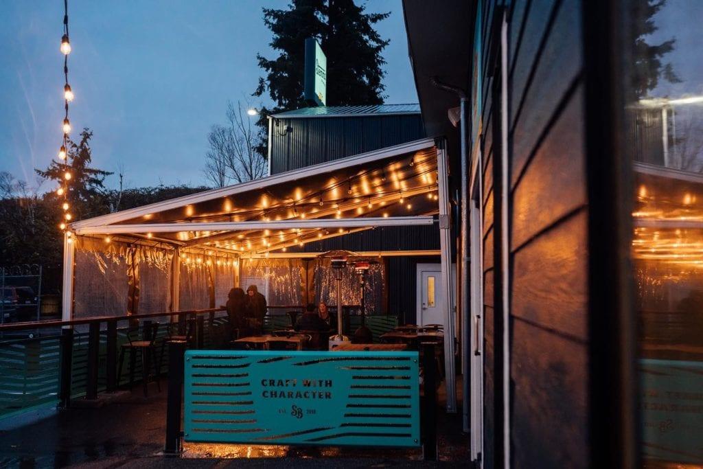 Stemma Brewing Outdoor Dining Bellingham Washington