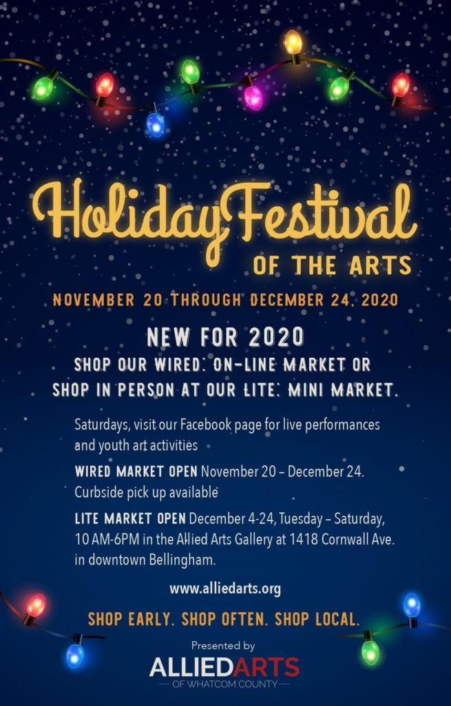 Allied Arts Holiday Festival 2020