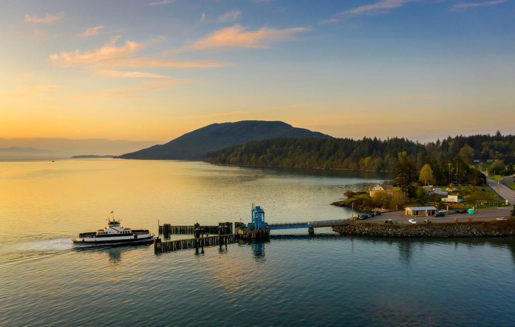 Edmund Lowe Lummi Island Ferry Whatcom County Washington