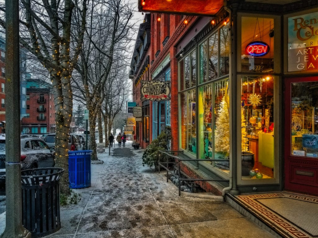 Jeffrey Barclay Fairhaven In The Winter