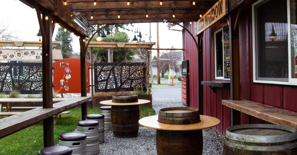 Twin Sisters Brewing Outdoor Dining Bellingham Washington