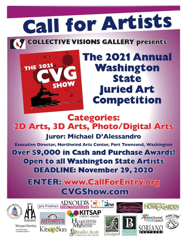 Cvg Show In Bremerton's Collective Visions Gallery.