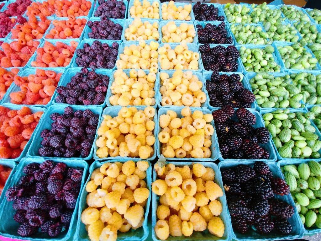 Berries From Mariposa Farm