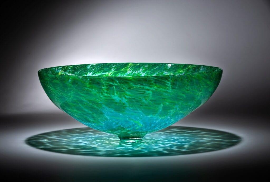 Lino Tagliapietra; Florencia, 2020; Blown Glass; 24 X 23 X 11 In. Photograph By Russell Johnson. Courtesy Of Lino Tagliapietra Seattle Studio.