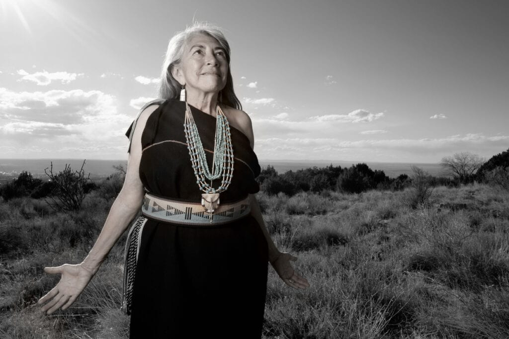Dr. Mary Jiron Belgarde Lore, Pueblo Of Isleta And Ohkay Owingeh, New Mexico, 2014. Photo By Matika Wilbur For Project 562. Courtesy Of The Artist.